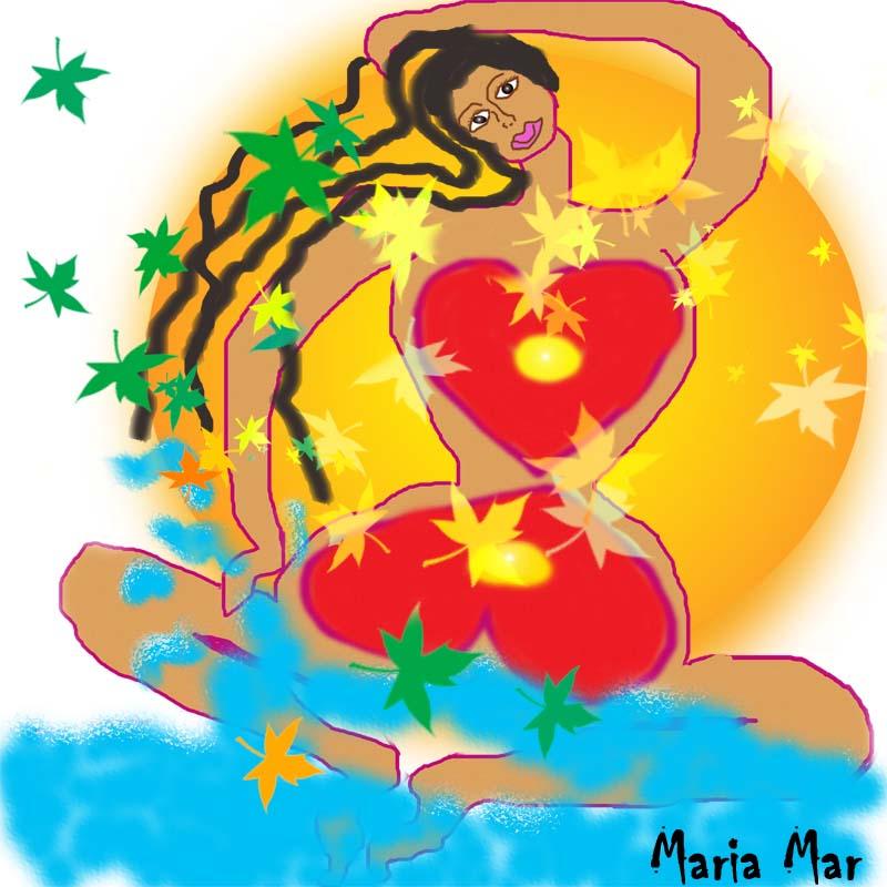 Arte de Maria Mar Ama tus curvas