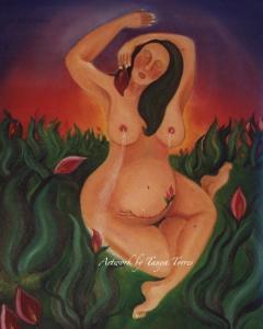 Arte y afirmaciones para amar tu cuerpo (Ama tus curvas)
